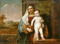 David Teniers the Younger - The Virgin and Child RCIN 400932.jpg