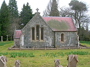 Dawyck Botanic Garden - Dawyck Chapel sits on an ancient religious site within the gardens.