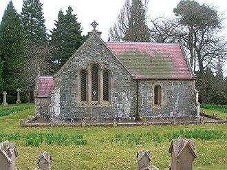 Dawyck Botanic Garden - Dawyck Chapel sits on an ancient religious site within the gardens.