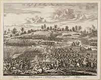 De slagh bij Turnhout in den jaere MDXCVII - 1597 (Jan Luyken, 1681).jpg