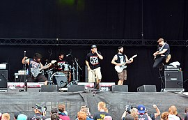 Death by Stereo beim Reload Festival 2015