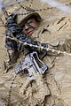 Defense.gov News Photo 110429-M-VG363-0753 - A U.S. Marine with General Support Motor Transport Company Combat Logistics Regiment 3 participates in the endurance course at the Jungle Warfare.jpg
