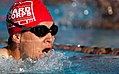 Defense.gov News Photo 120221-M-AR635-002 - U.S. Marine Corps veteran Derek Lui swims the breaststroke in the men s blind and visually impaired 50-meter event during the 2012 Marine Corps.jpg