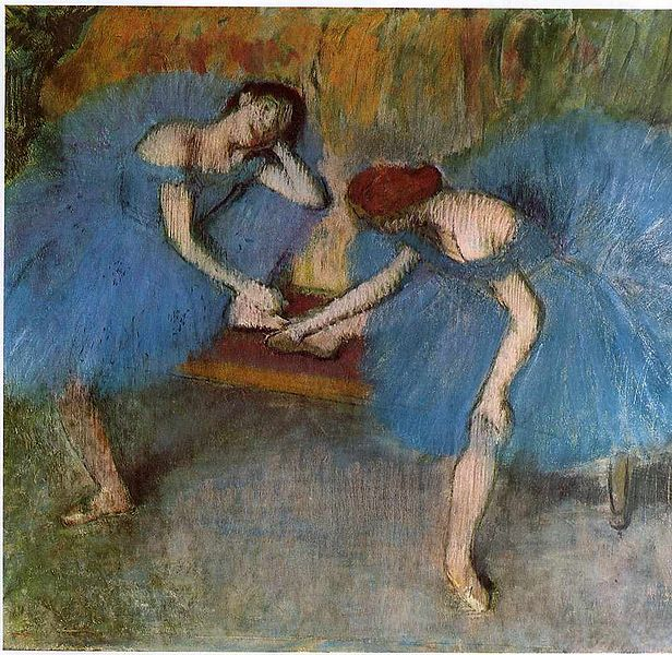 the life of painter and sculptor edgar de gas hilaire Hilaire-germain-edgar de gas  he became a classical painter of modern life  degas's only showing of sculpture during his life took place in 1881 when he .