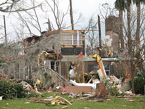 2007 Groundhog Day tornado outbreak - Image: Deland 3