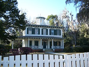 National Register of Historic Places listings in Jefferson County, Florida - Image: Denham Lacy House 01