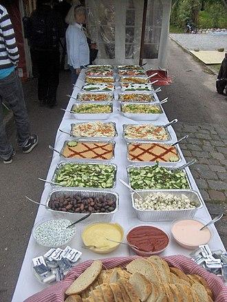 Buffet - A Danish buffet