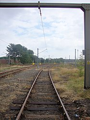 Depot approach tracks, Tyne and Wear Metro depot open day, 8 August 2010.jpg