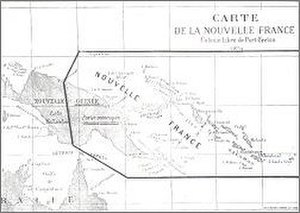 "De Rays Expedition - A map of de Rays' ""Mythical Empire"" of La Nouvelle France"