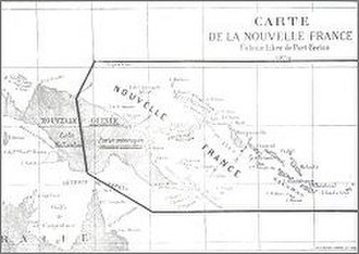 """De Rays Expedition - A map of de Rays' """"Mythical Empire"""" of La Nouvelle France"""