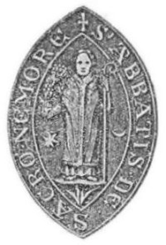 Dercongal Abbey - Seal of one of the abbots.