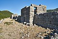 Derelich towers at the fortress of Eleutherai on August 30, 2020.jpg