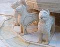 Detail fountain lions patio de los Leones Alhambra Granada Spain.jpg
