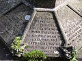 Detail of inscription on the grave of Dean Tait's daughters - geograph.org.uk - 1506955.jpg