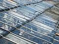 Detail of the glasshouse roof in Pentillie Castle kitchen garden - geograph.org.uk - 1205427.jpg