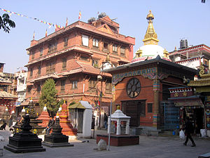 Tara Devi Tuladhar - The nunnery of Dharmakirti Vihar, Kathmandu.