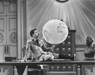 The Great Dictator - Chaplin in the globe scene