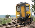 Diesel multiple unit 156409 on its way to Reedham Station - geograph.org.uk - 1442769.jpg