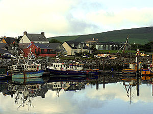 Dingle harbour, County Kerry, Ireland