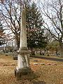 Dinsmore-Miller Obelisk, Chartiers Cemetery, 01.jpg