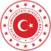 Escutcheon used by the Ministry of Foreign Affairs and the diplomatic missions of Turkey.