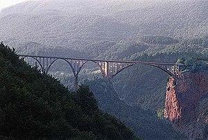 Tara (river) - Đurđevića Tara Bridge on Tara River