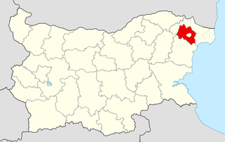 Dobrichka Municipality Within Bulgaria.png