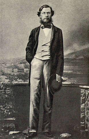 Н.А.Добролюбов в Неаполе.Май 1861 года.