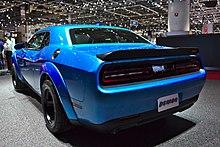 Dodge Demon Colors >> Dodge Challenger Wikipedia
