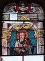 Dohis (Aisne) église, vitrail endommagé.JPG
