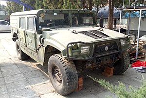Humvee manufacturing in China - Dongfeng EQ2050 in Beijing