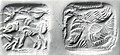 Double-sided stamp seal and modern impression- striding boar; vulture MET ss1985 192 28.jpg