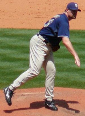 Doug Brocail - Brocail with the San Diego Padres