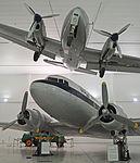 Dove and Dakota. Al Mahatta Aviation Museum, Sharjah (22036123391).jpg