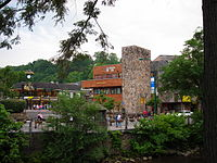 Image result for DOWNTown gatlinburg on fire