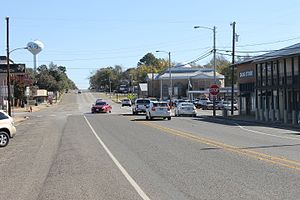 Troup, Texas - Downtown Troup