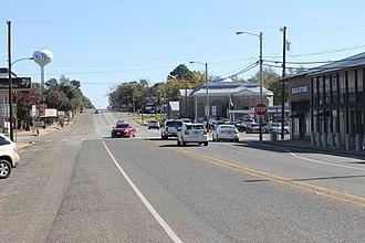 Troup, Texas - Downtown Troup