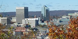 Downtown Worcester