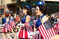 Dragon Con 2013 Parade - Captain America USO Girls (9677733539).jpg