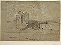 "Drawing, Study for ""Searchlight, Harbor Entrance, Santiago de Cuba"", 1885 (CH 18173667).jpg"