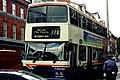 Dublin - Double-decker bus on Dame Street - geograph.org.uk - 1614513.jpg