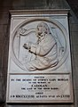 Dublin St. Patrick's Cathedral North Aisle Plaque of Carolan 2012 09 26.jpg