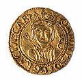 Ducado de oro de Zaragoza de Juan II de Aragón (anverso).jpg