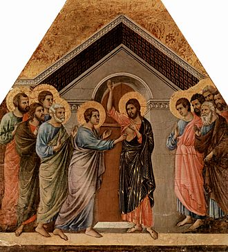 Apostolic Age - A depiction of Jesus appearing to his Apostles after his resurrection