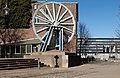 Duisburg, Seilscheibe der Schachtanlage Rheinpreussen IMG 6232 2019-02-24 12.33.jpg