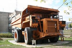 RTB Bor - Lectra Haul dump truck in Bor.