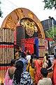 Durga Puja Pandal Main Gateway - Chetla Agrani Club - Kolkata 2017-09-26 4206.JPG