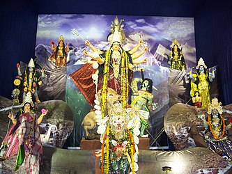 Durga with Matrikas.jpg