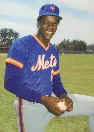 Dwight Gooden 1986 by Barry Colla