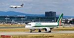 EI-DSC - Alitalia - Airbus A320 (19607587009).jpg